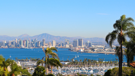San Diego Harbor Skyline Panorama